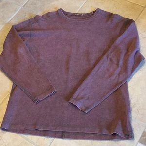 Men's long sleeve pullover shirt
